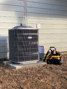 Carrier hvac unit repair